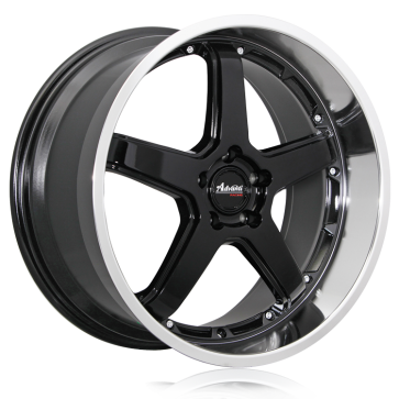 Advanti Racing Wheels A2-TRAKTION BLACK