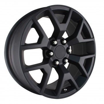 Performance Replicas Wheels - Style  150 Matte Black 2014 GMC 1/2 ton