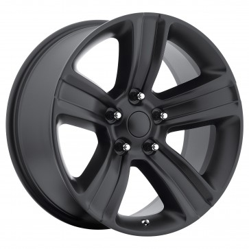 Performance Replicas Wheels - Style  155 Satin Black(Semi Gloss Black) Dodge Ram 1500