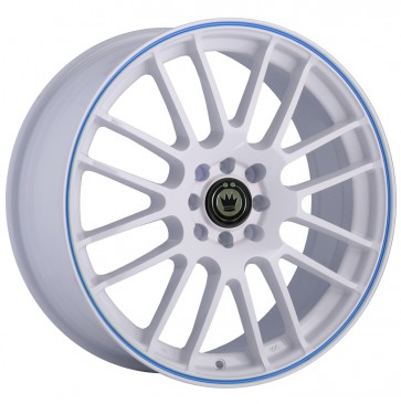KONIG TWILITE White Blue Stripe