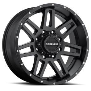 Raceline Wheels 931B Injector Black