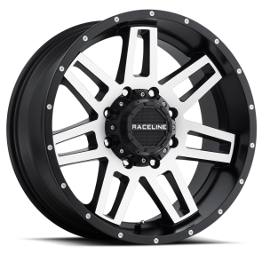 Raceline Wheels 931M Injector Machined