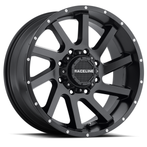 Raceline Wheels 932B Twist Black