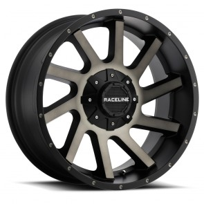 Raceline Wheels 932DM Twist Dark Tint