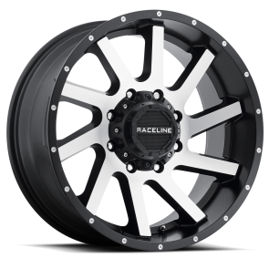 Raceline Wheels 932M Twist Machined