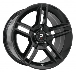 Performance Replicas Wheels - Style  101 Gloss Black Shelby GT 500 Replica