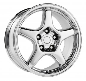Performance Replicas Wheels - Style  103 Chrome 1984-1992 Corvette C4 +38mm for 84-87 Vettes