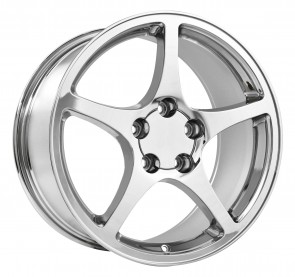 Performance Replicas Wheels - Style  104 Chrome 2000 Corvette C5