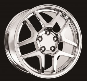 Performance Replicas Wheels - Style  105 Chrome 2001 Corvette C5 Z06
