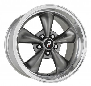 Performance Replicas Wheels - Style  106 Anthracite/Machined Lip Mustang Bullet Replica Note: + 30mm offset fits all Mustangs 1994-Present106