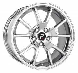 Performance Replicas Wheels - Style  118 Chrome Mustang FR 500 Replica