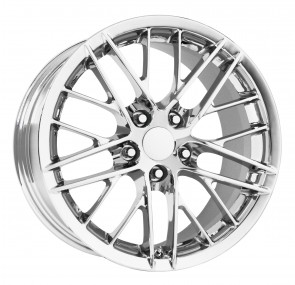 Performance Replicas Wheels - Style  121 Chrome 2010 Corvette ZR1