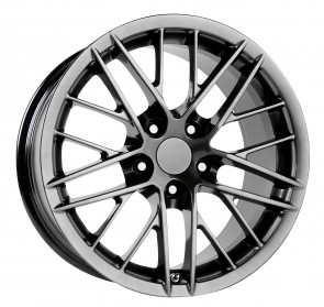 Performance Replicas Wheels - Style  121 Hyper Silver Dark 2010 Corvette ZR1