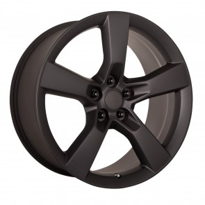 Performance Replicas Wheels - Style  124 Matte Black 2010 Camaro SS