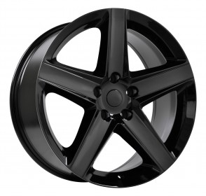 Performance Replicas Wheels - Style  129 Gloss Black Jeep SRT 8
