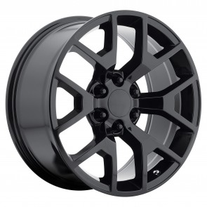 Performance Replicas Wheels - Style  150 Gloss Black 2014 GMC 1/2 ton