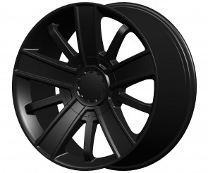 Performance Replicas Wheels - Style  153 Satin Black(Semi Gloss Black) High Country