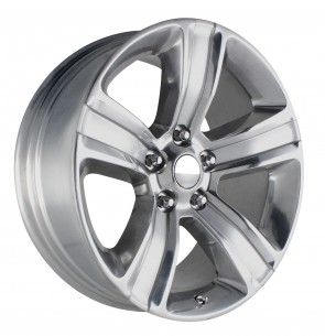 Performance Replicas Wheels - Style  155 Silver/Polished Dodge Ram 1500
