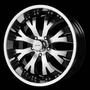 Verde Wheels V47 - Exo - 5 Lug - Mach-Black