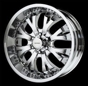 Verde Wheels V47 - Exo - 6 Lug - Chrome