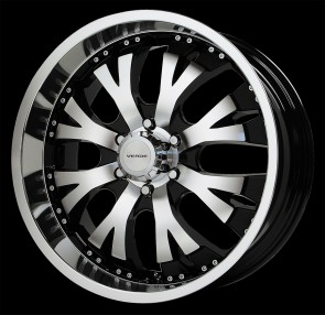 Verde Wheels V47 - Exo - 6 Lug - Mach-Black
