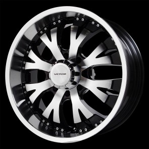 Verde Wheels V47 - Exo - 8 Lug - Mach-Black