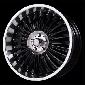 Verde Wheels V48 - Vortex - 5 Lug - Black